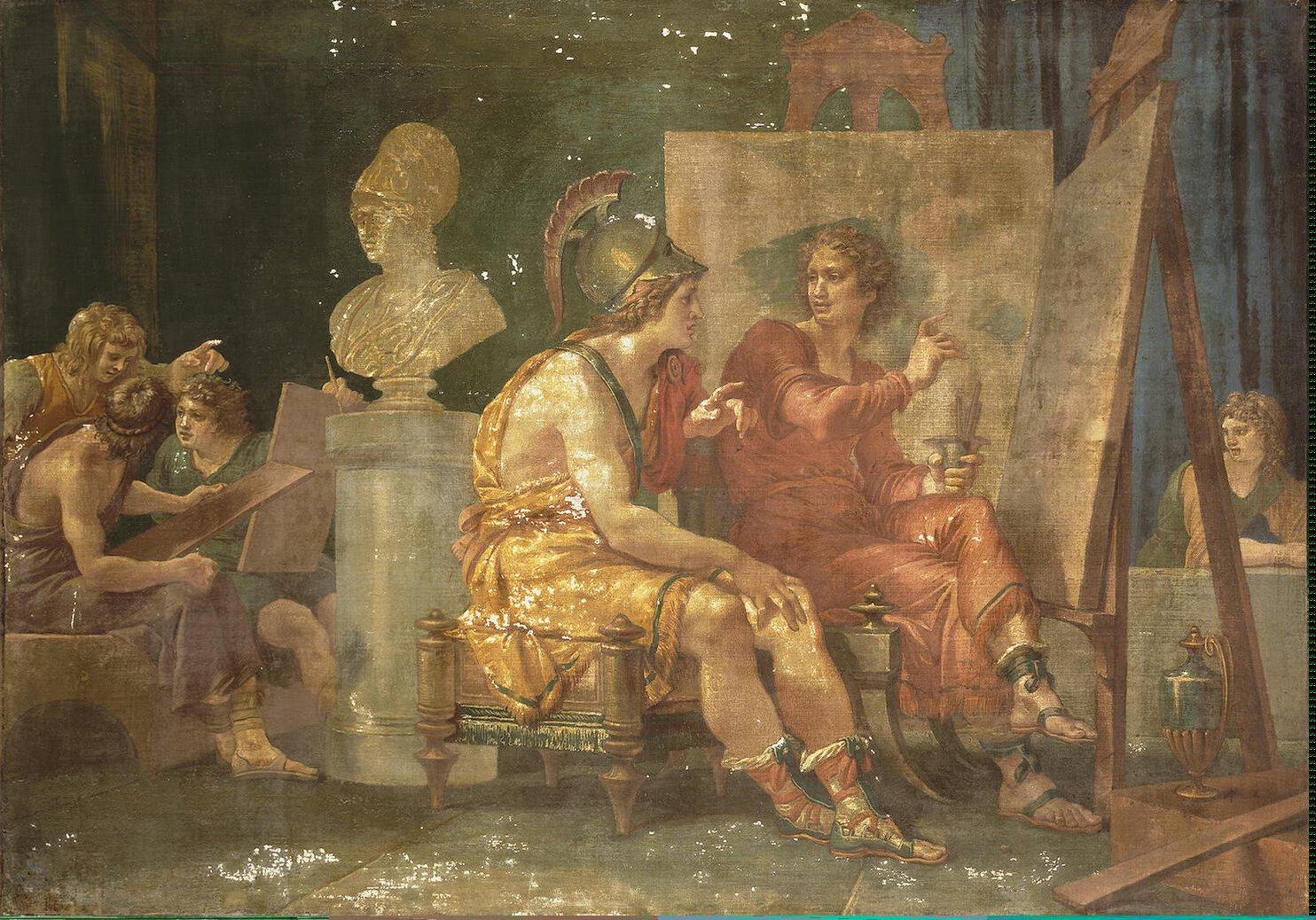 Древнегреческий живописец второй половины 4 века до нашей эры