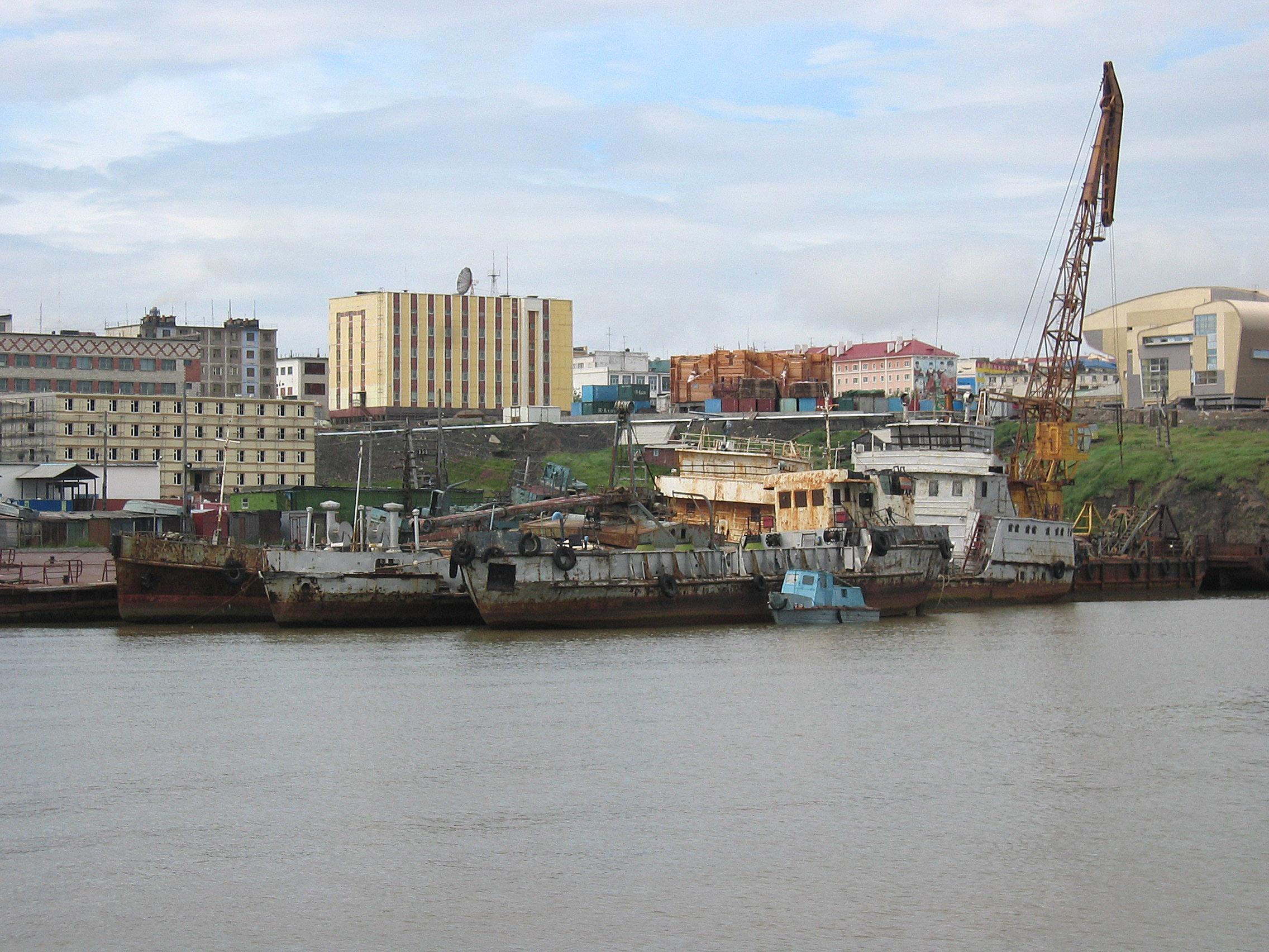 Анадырь - это... Что такое Анадырь? Чукотский Автономный Округ Флаг