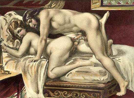 Иллюстрации секса художниками куннилингус