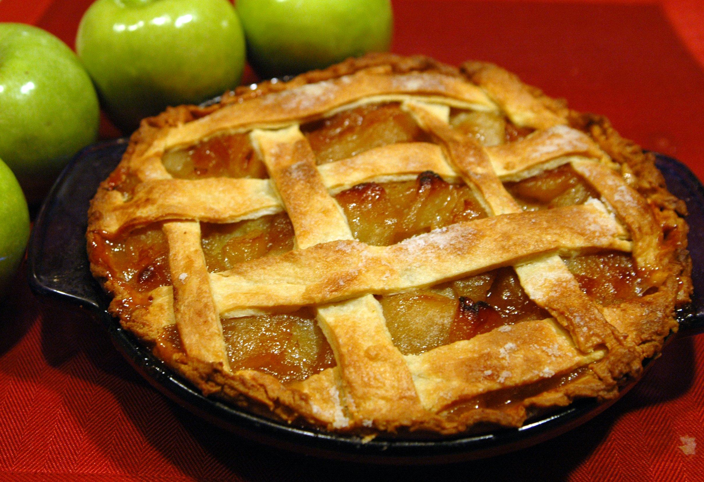 Пирог с яблокам