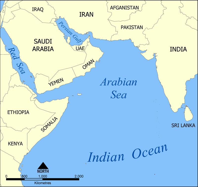 аравийское море фото