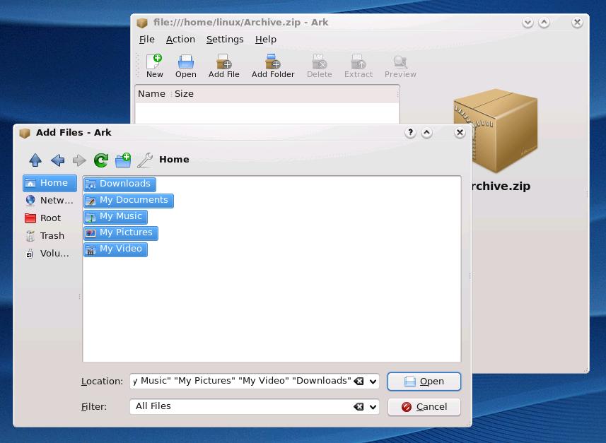 Rar Linux - фото 10