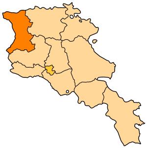 Ширак на карте