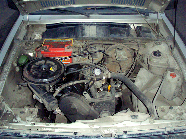 Двигатель Audi 80 B2