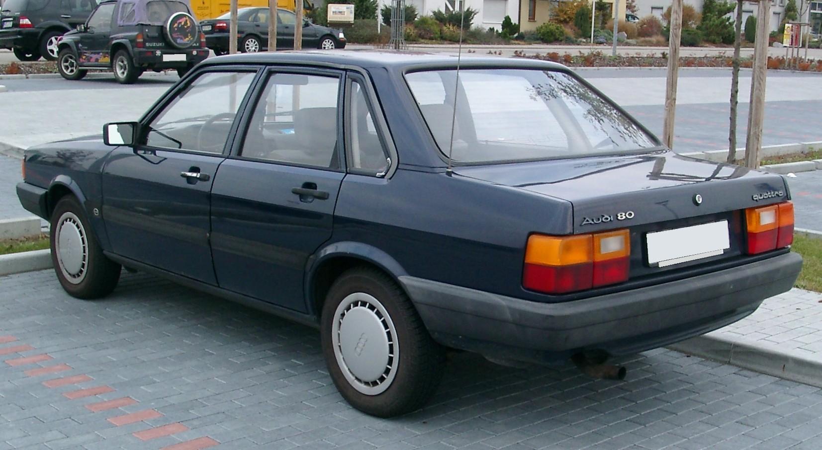 Audi 80 B2 фото