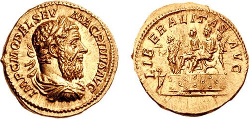 a bibliography for marcus opellius macrinus The hieroglyphics of macrinus also known as: marcus opellius severus macrinus augustus roman emperors bibliography beckerath, j.