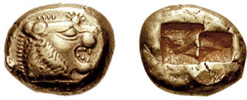 Лидийская монета деньги в румынии