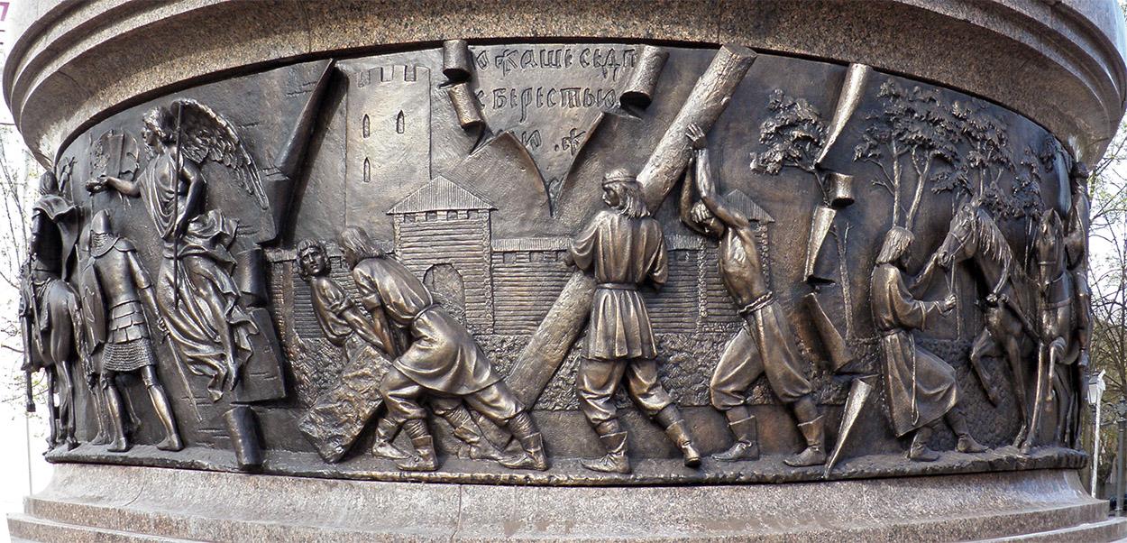 """Результат пошуку зображень за запитом """"памятник тысячелетия Бресту"""""""