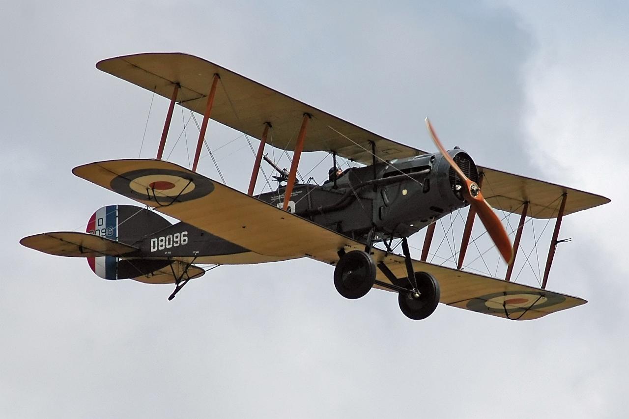 Обои самолёт-разведчик, Royal aircraft factory, английский, r.e.8. Авиация foto 11