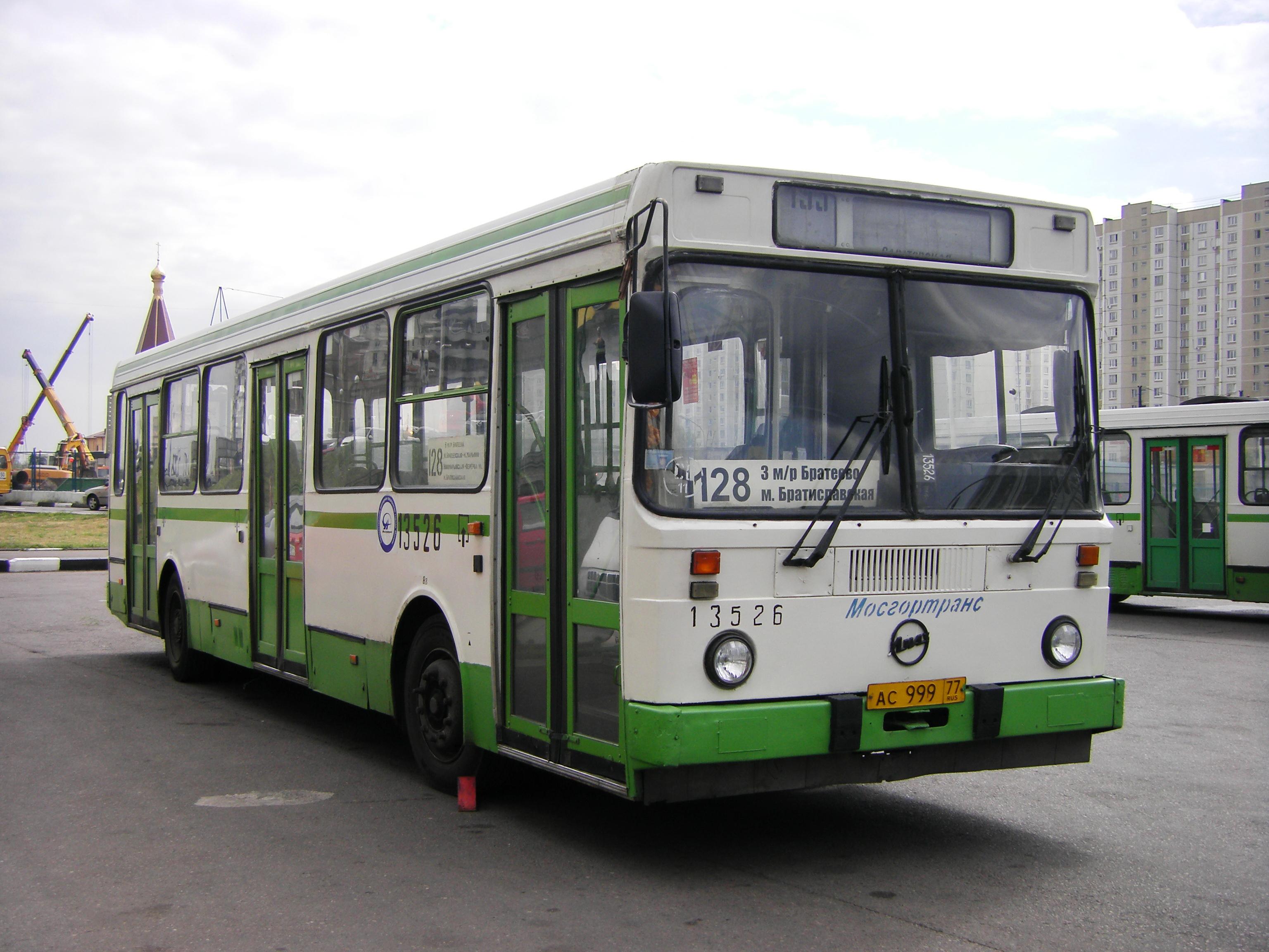 Маршрут троллейбуса 65 на карте Москвы