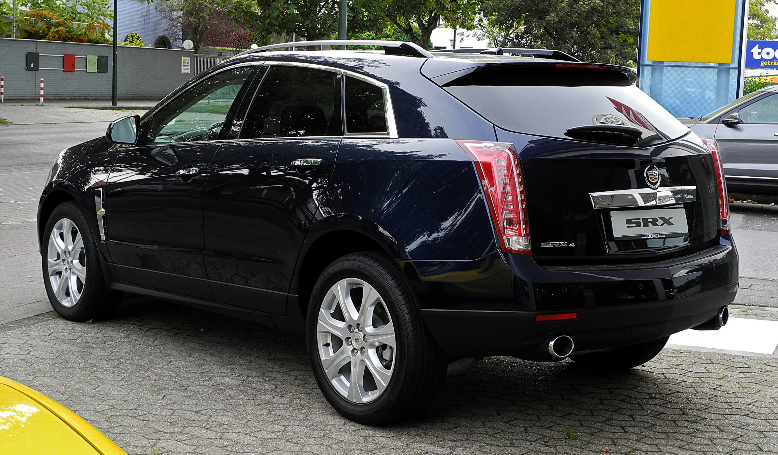 Cadillac Srx это Что такое Cadillac Srx