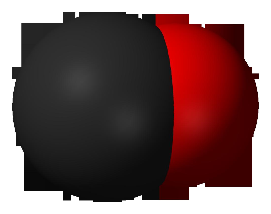 схема молекулы оксида кальция