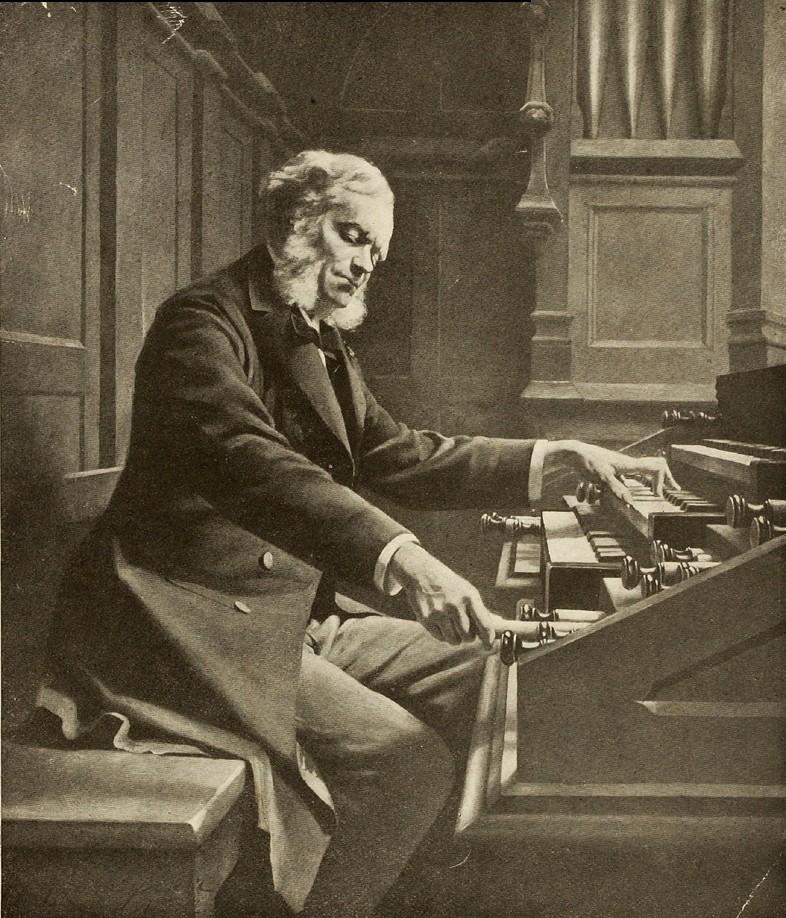 органные произведения баха слушать