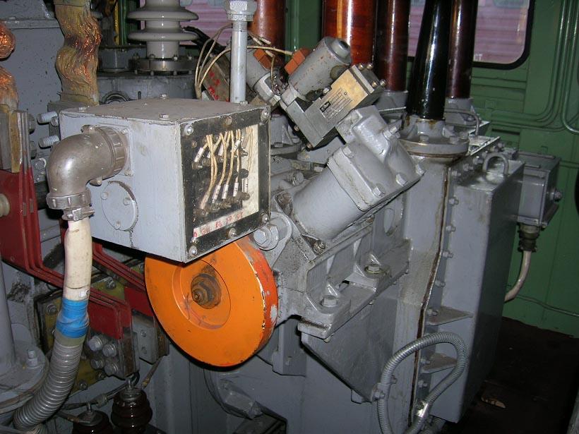 ступеней электровоза ЧС4Т