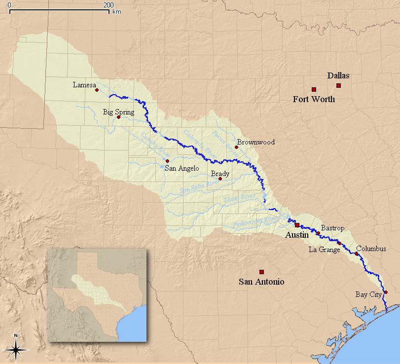 Колорадо (река, впадает в Мексиканский залив)