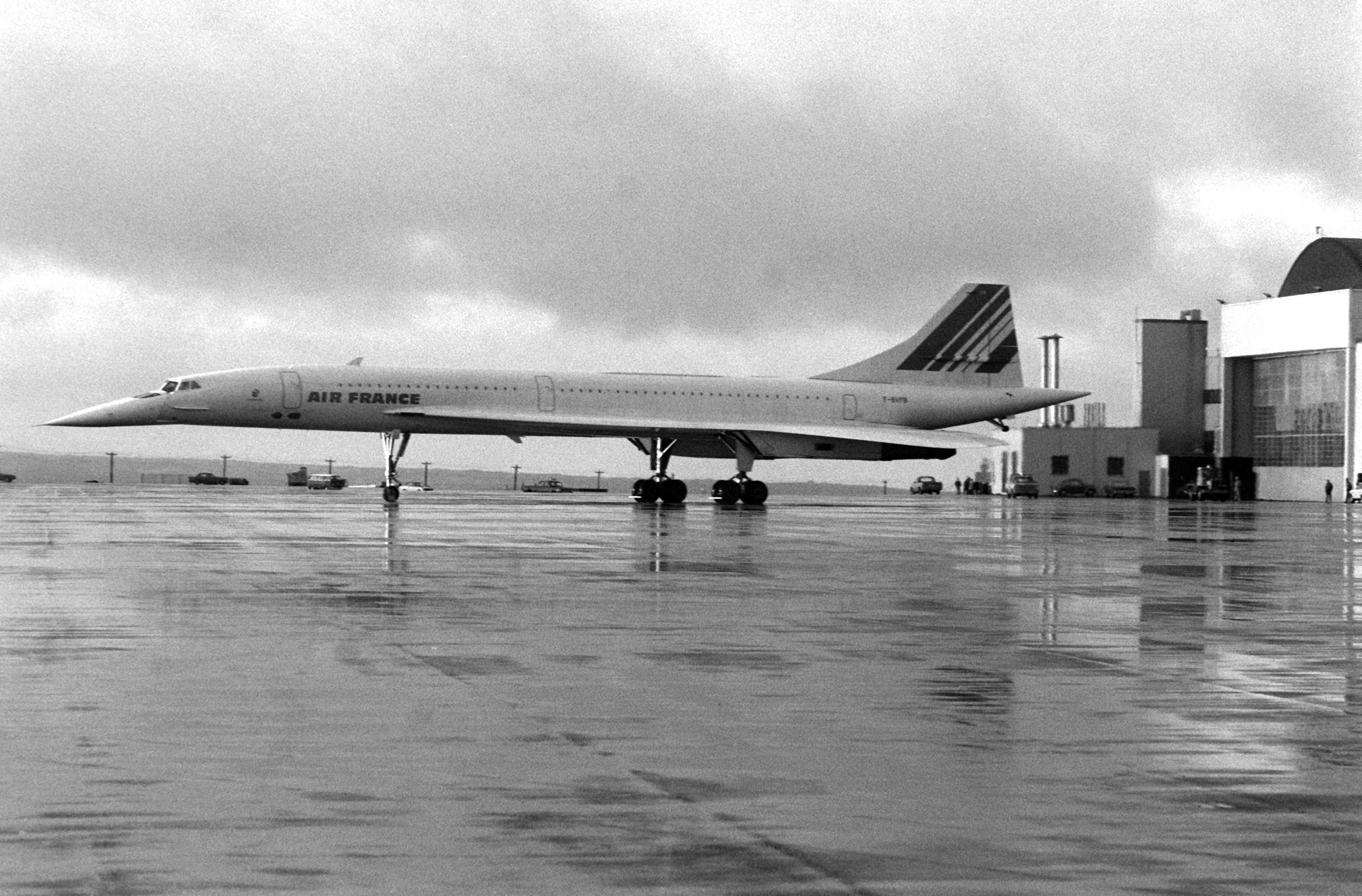 Geschwindigkeit Concorde