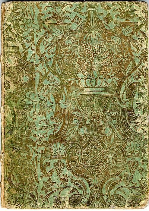 Vintage Book Cover Pattern : Кодекс copiale это Что такое