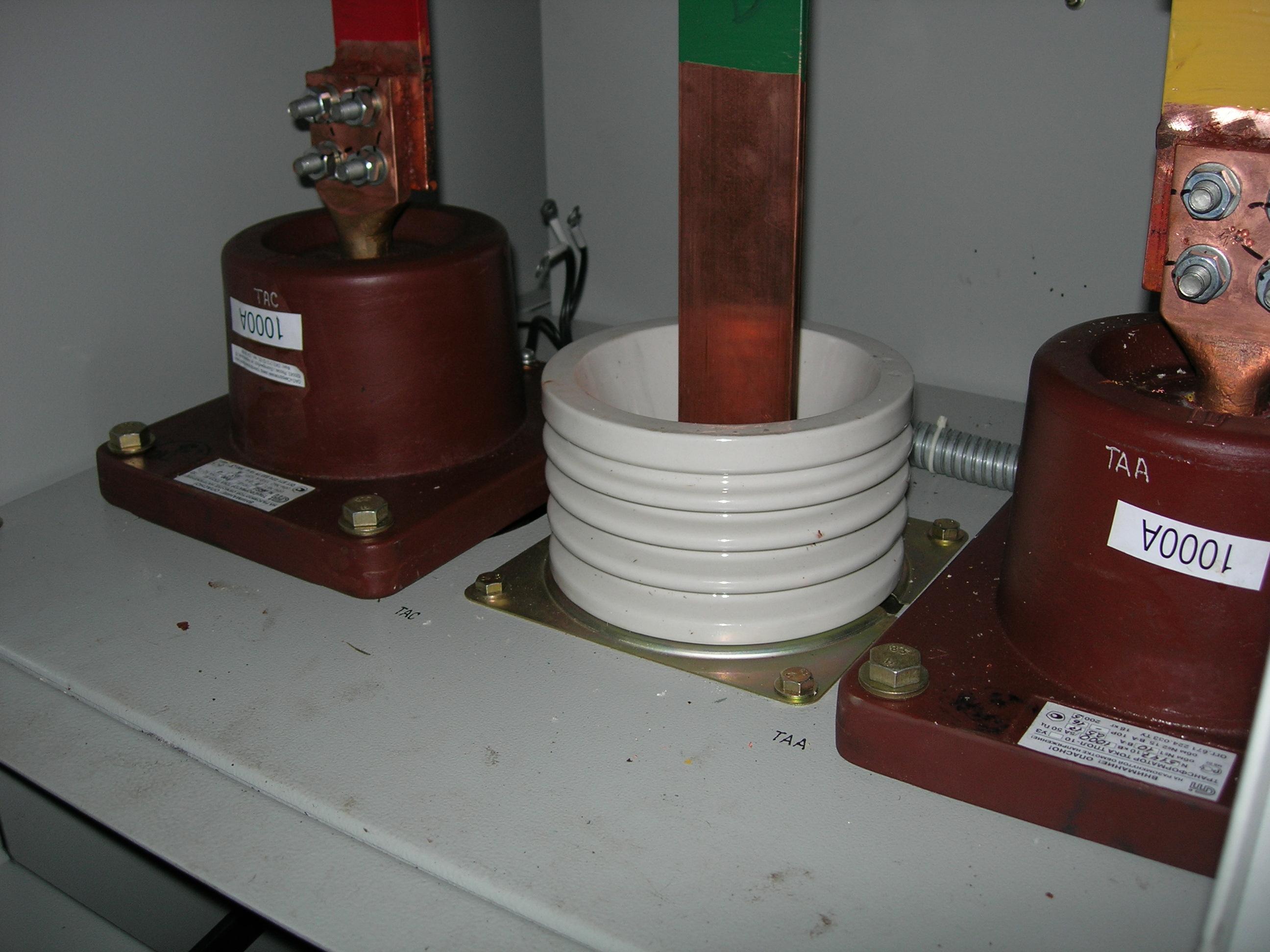 фото схема подключения трансформаторов тока