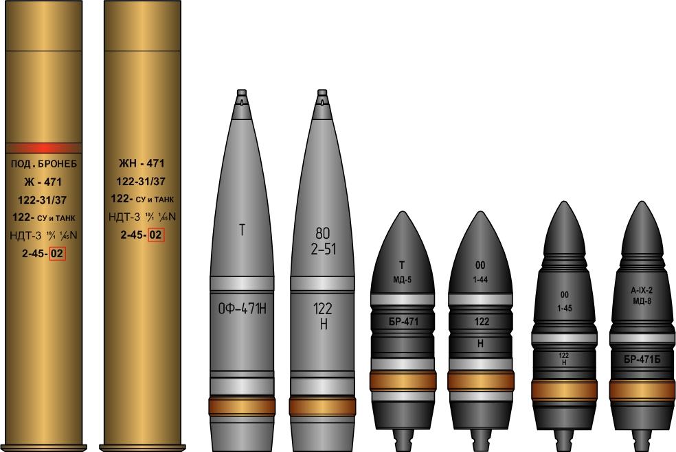 снаряд БР-471,