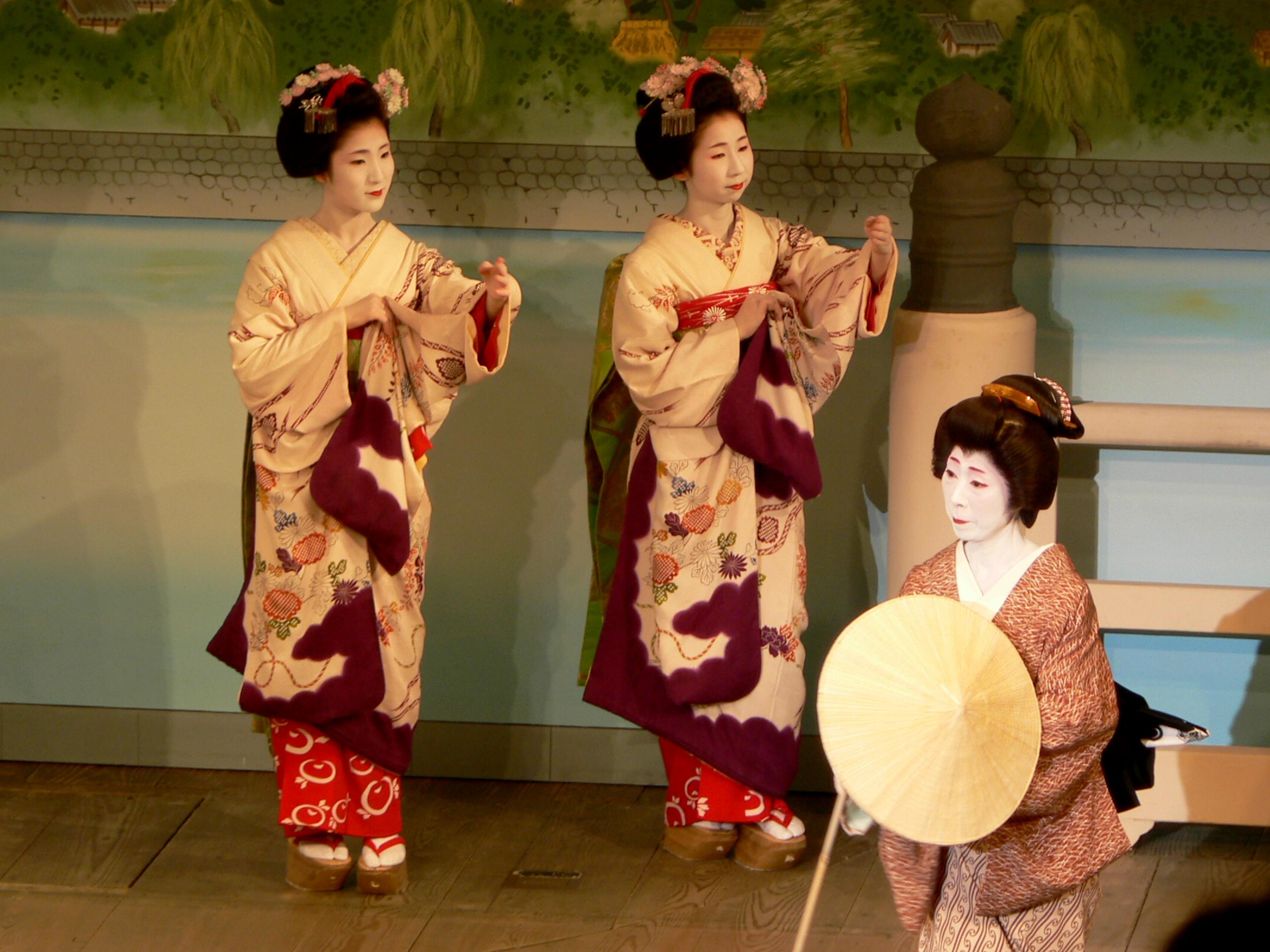 Танцующая японка фото 10 фотография