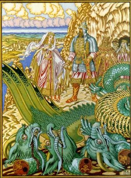 добрыня никитич и змей горыныч сказка
