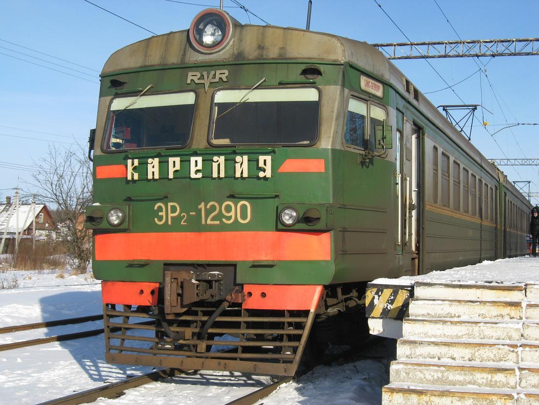 Электропоезд эр2р схемы