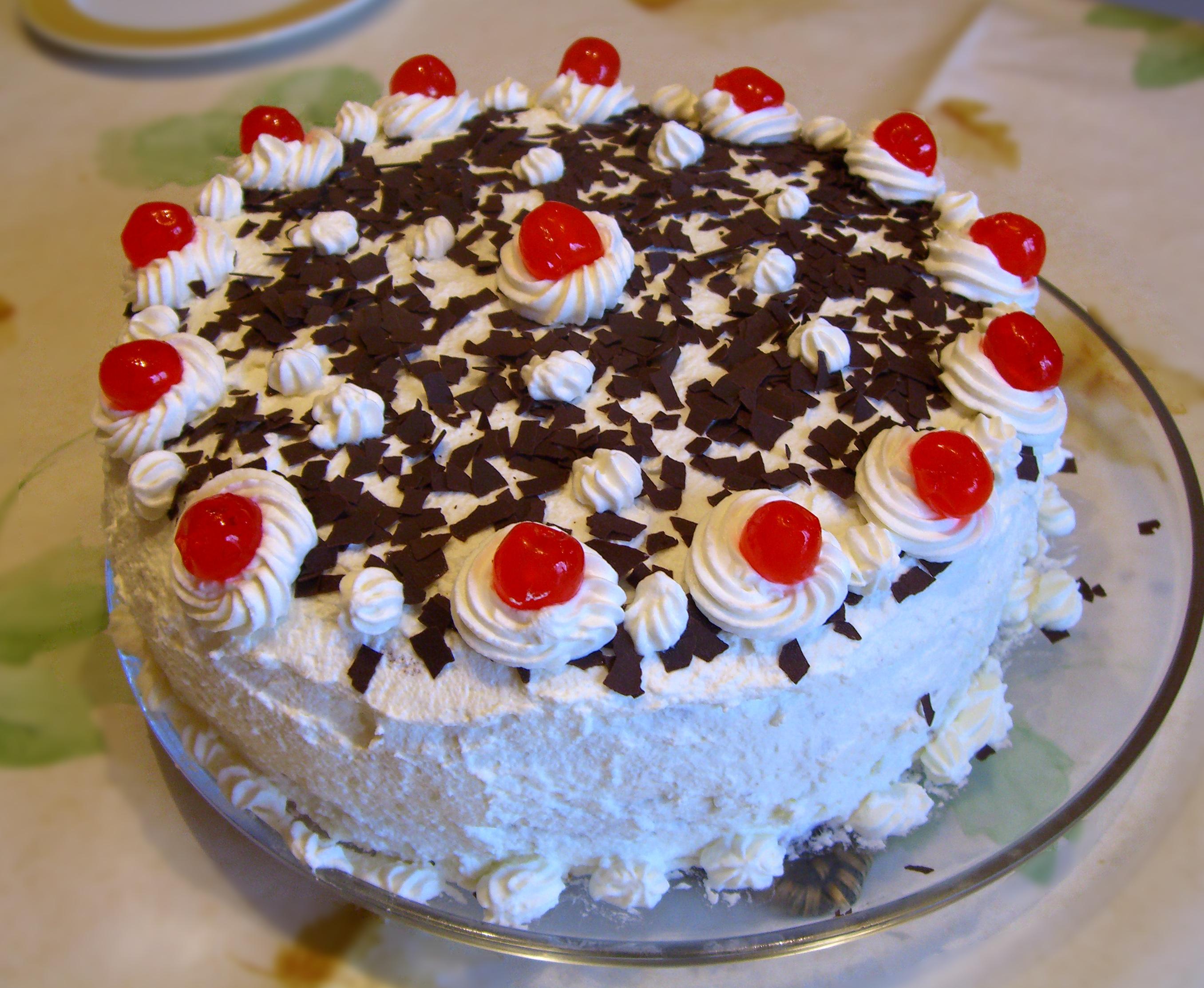 Cake With Cream Sherry