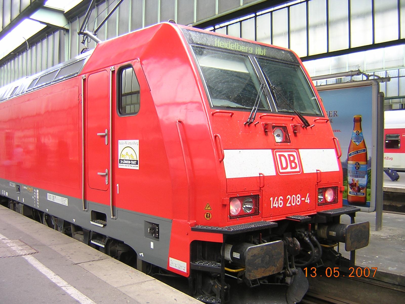 Электровоз BR 146