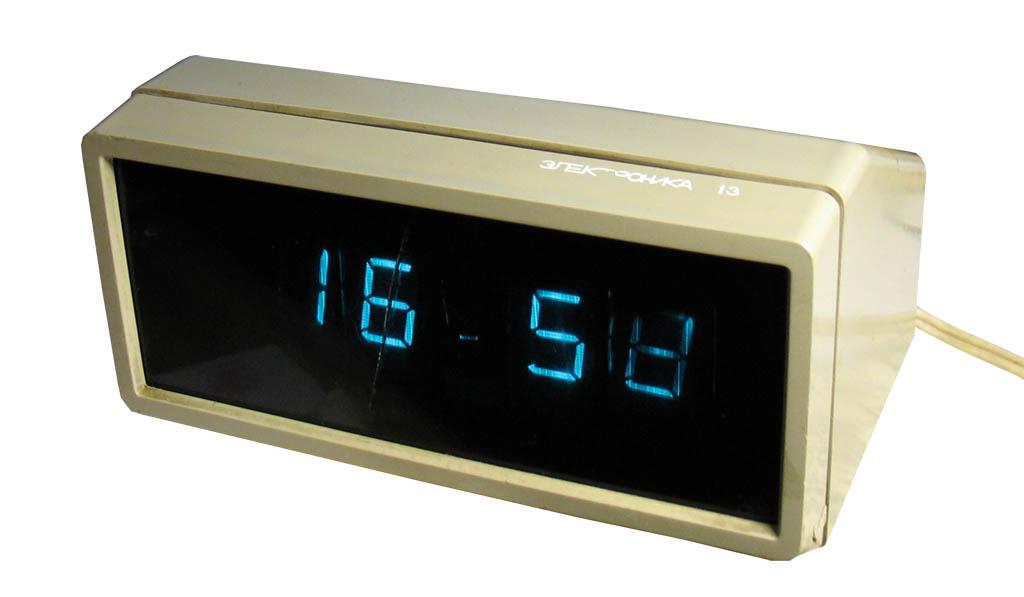 Настольные часы «Электроника
