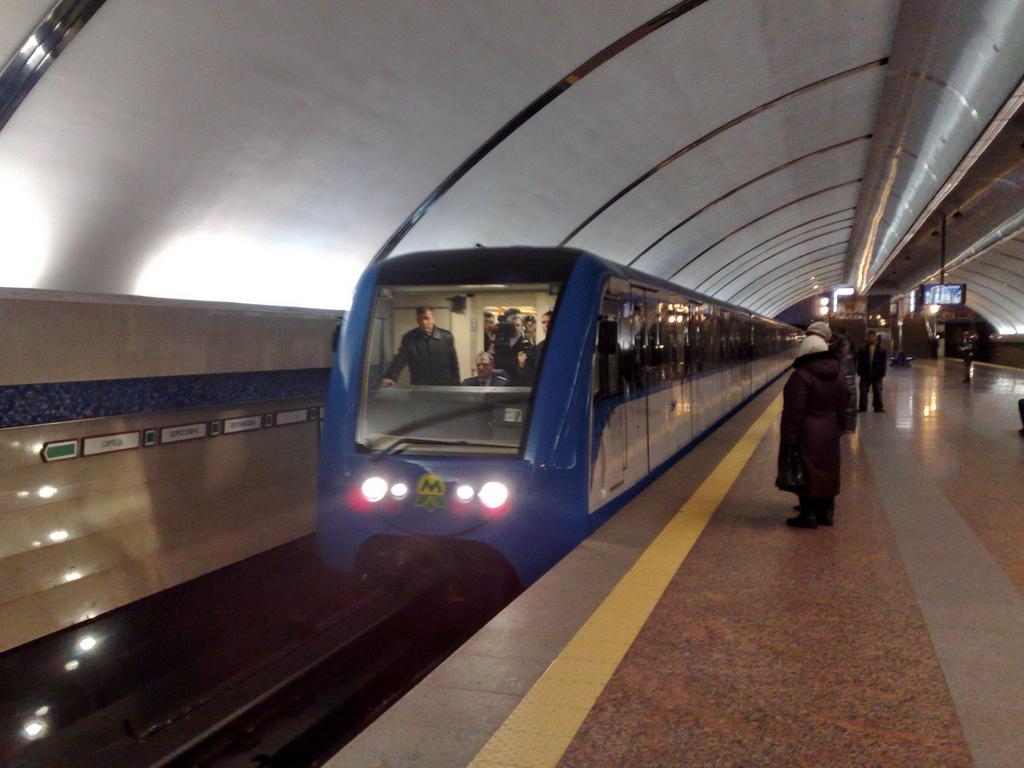 56 лет подземной жизни Киевского метрополитена