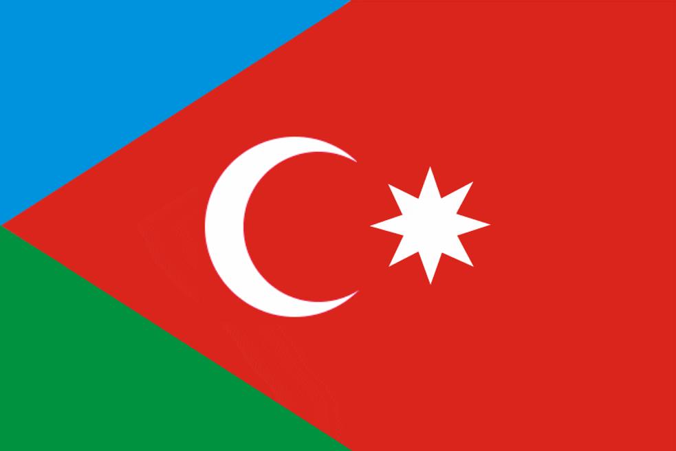 флаг азербайджана фото