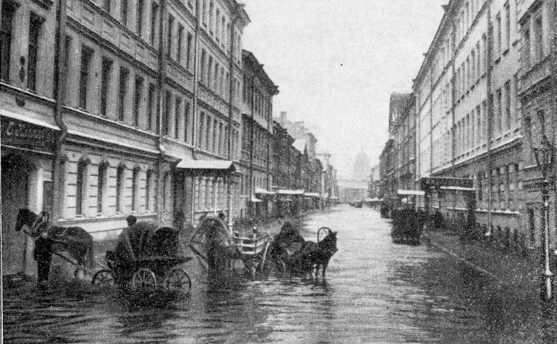 Рисунок улицы города