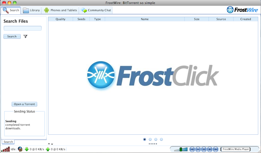 frostwire 4.20.7 gratuit