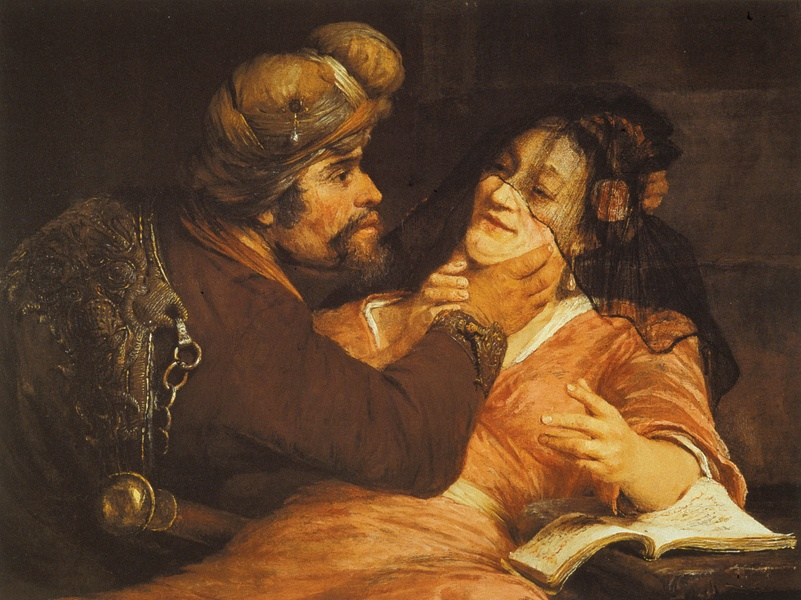 Арент де Гелдер. Тамар и Иуда. 1667