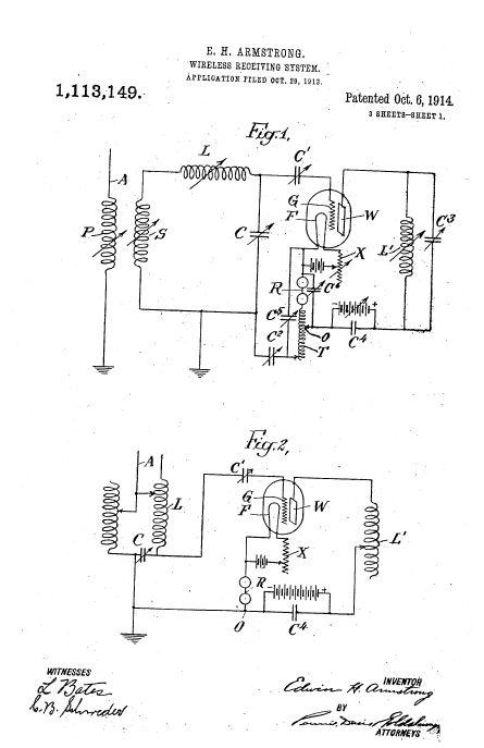 Схемы генераторов Армстронга