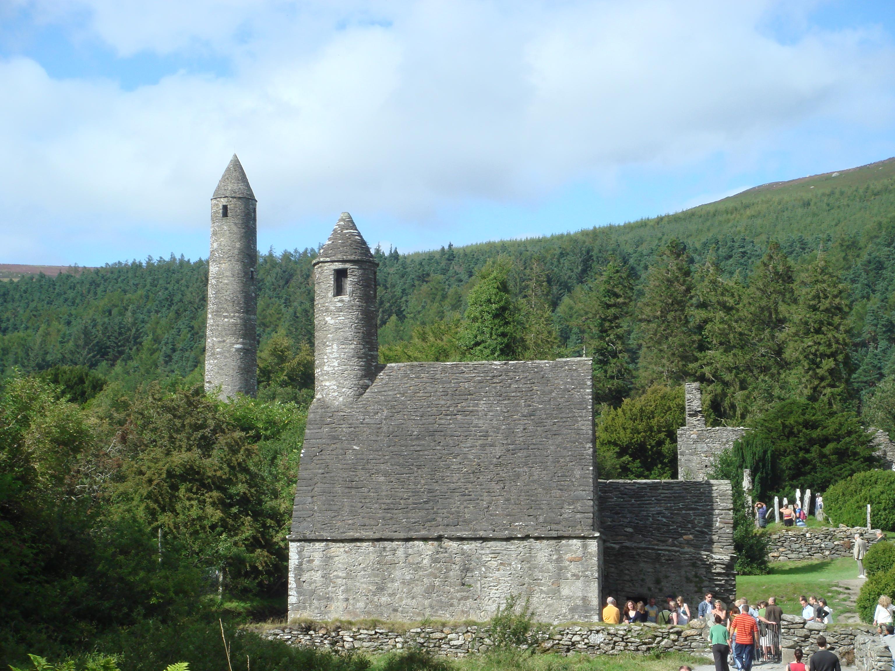 Монастырь в долине глендалох