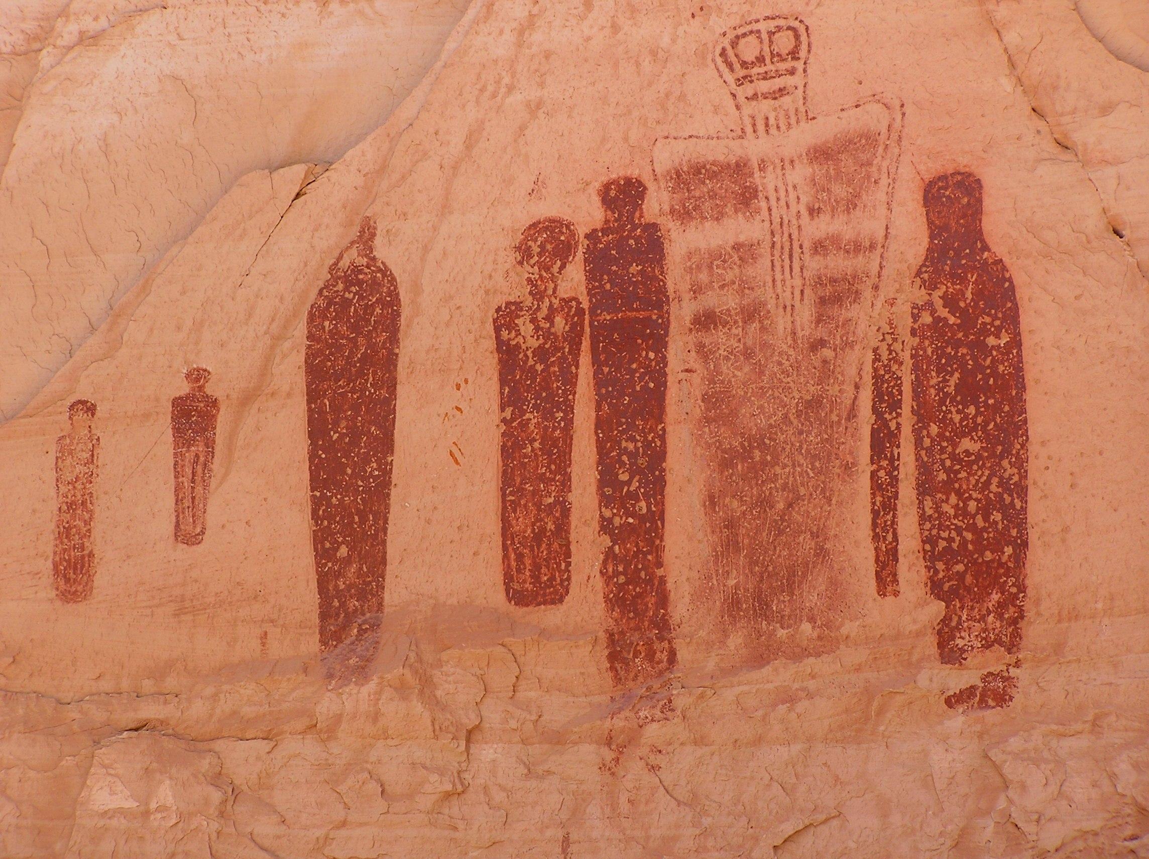наскальная живопись википедия: