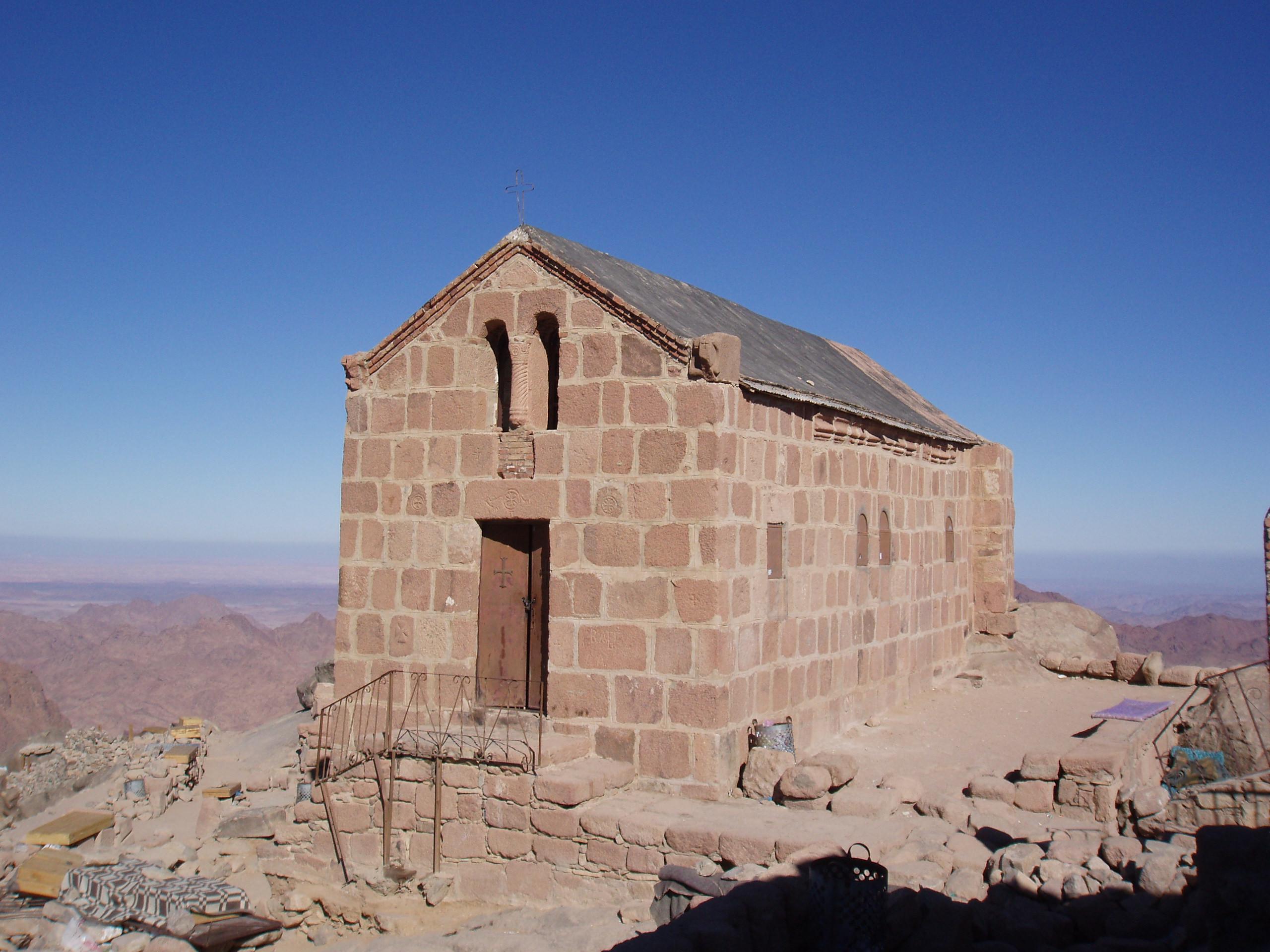 Гора моисея на карте синая
