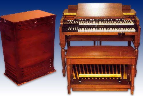 Hammond B3 и динамики Лесли