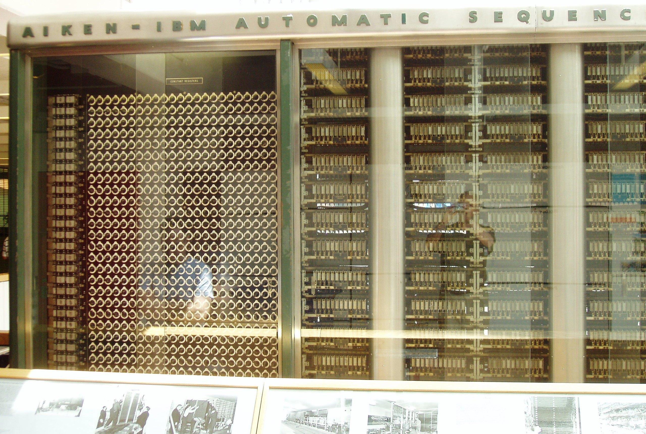 Mark i первый компьютер говарда айкена