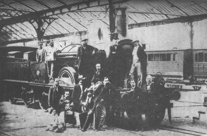 Железная дорога Барселона-Матаро, 1848 ...: dic.academic.ru/dic.nsf/ruwiki/1800588/930230