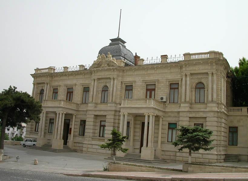 Национальный музей искусств азербайджана в