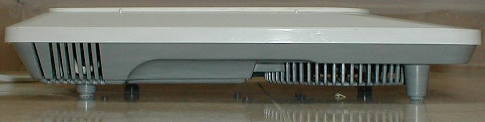 Индукционная плита (Вид сбоку)