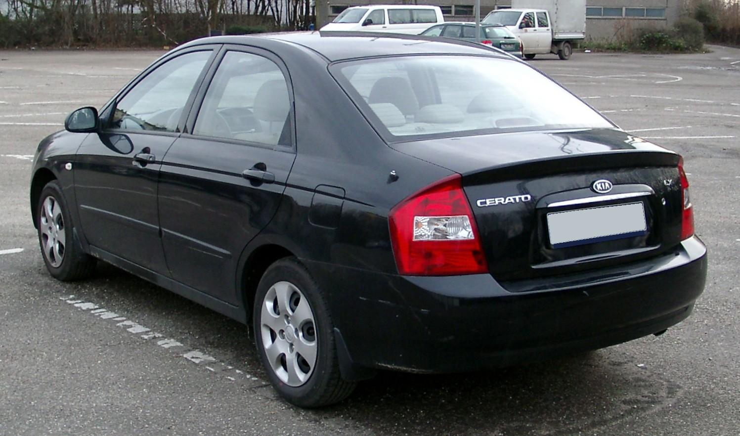 киа церато 2008 седан фото