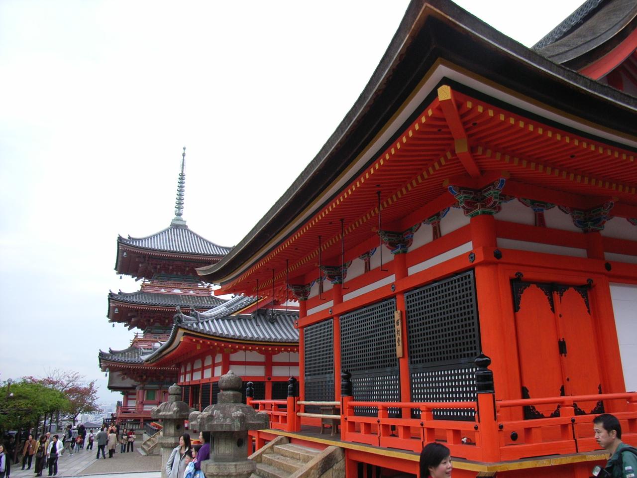 Храмовый комплекс Киёмидзу-дэра