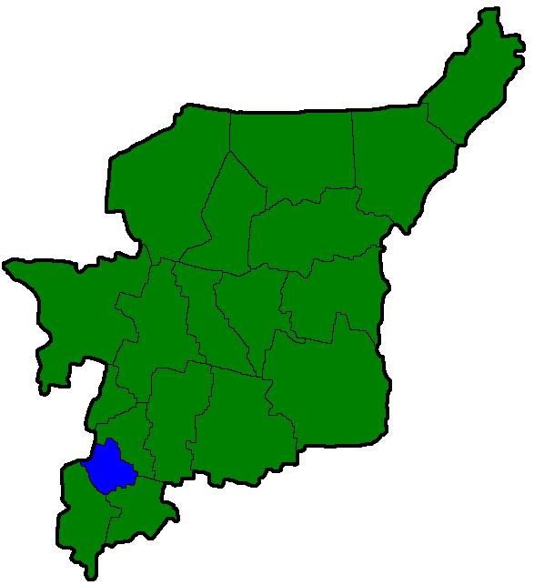 Район Вуктыл на карте.