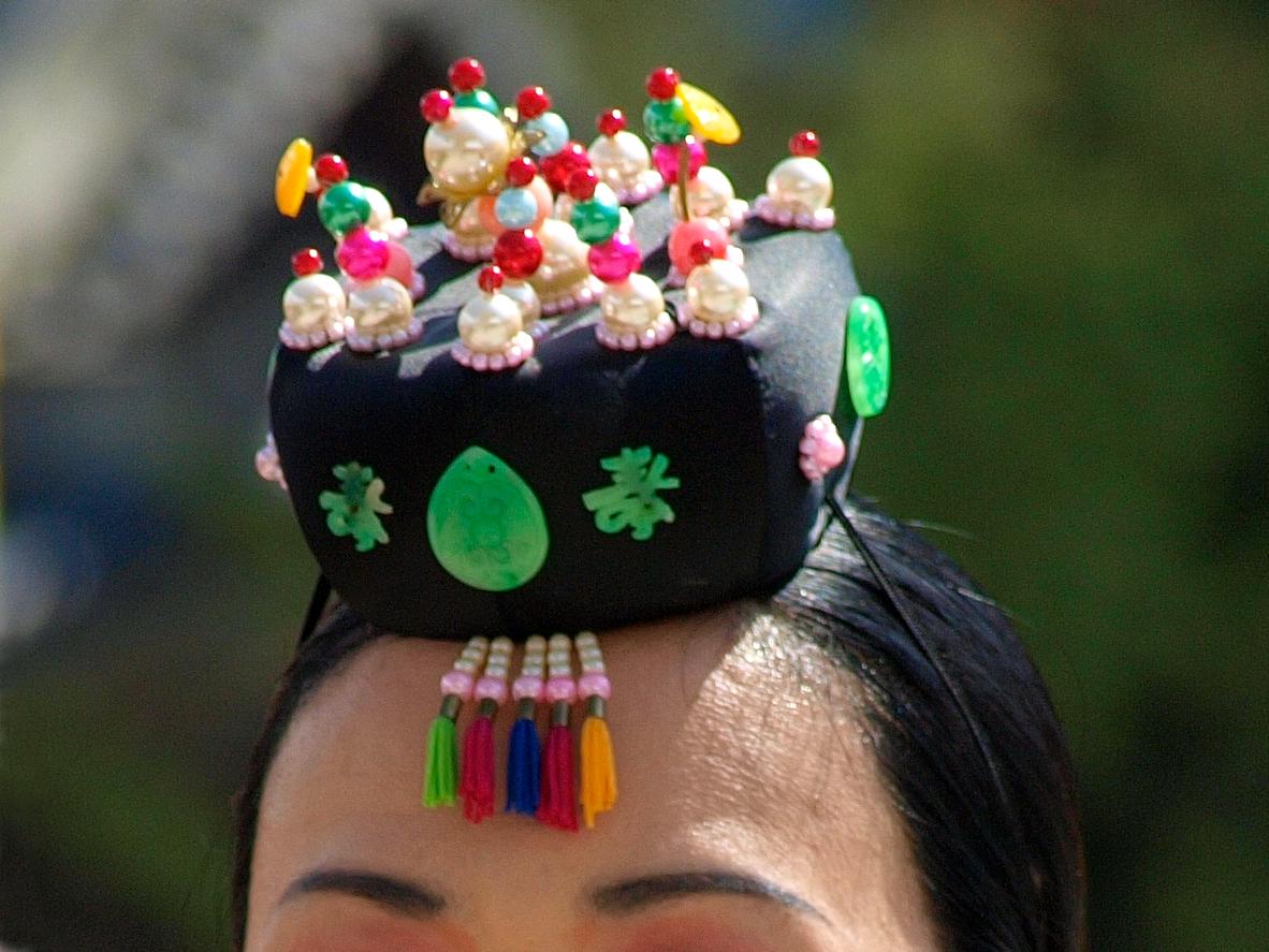 Корейский головной убор своими руками