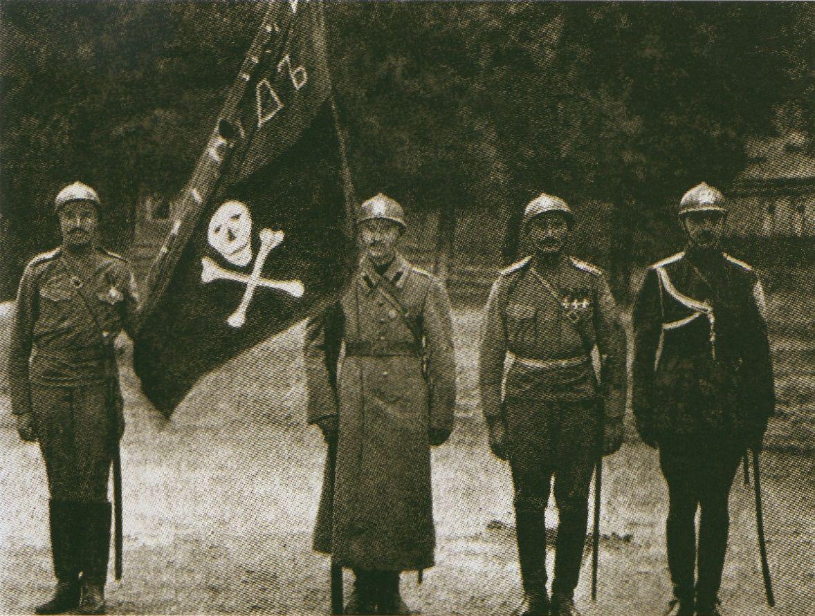 И адъютант ударного отряда 8 й армии