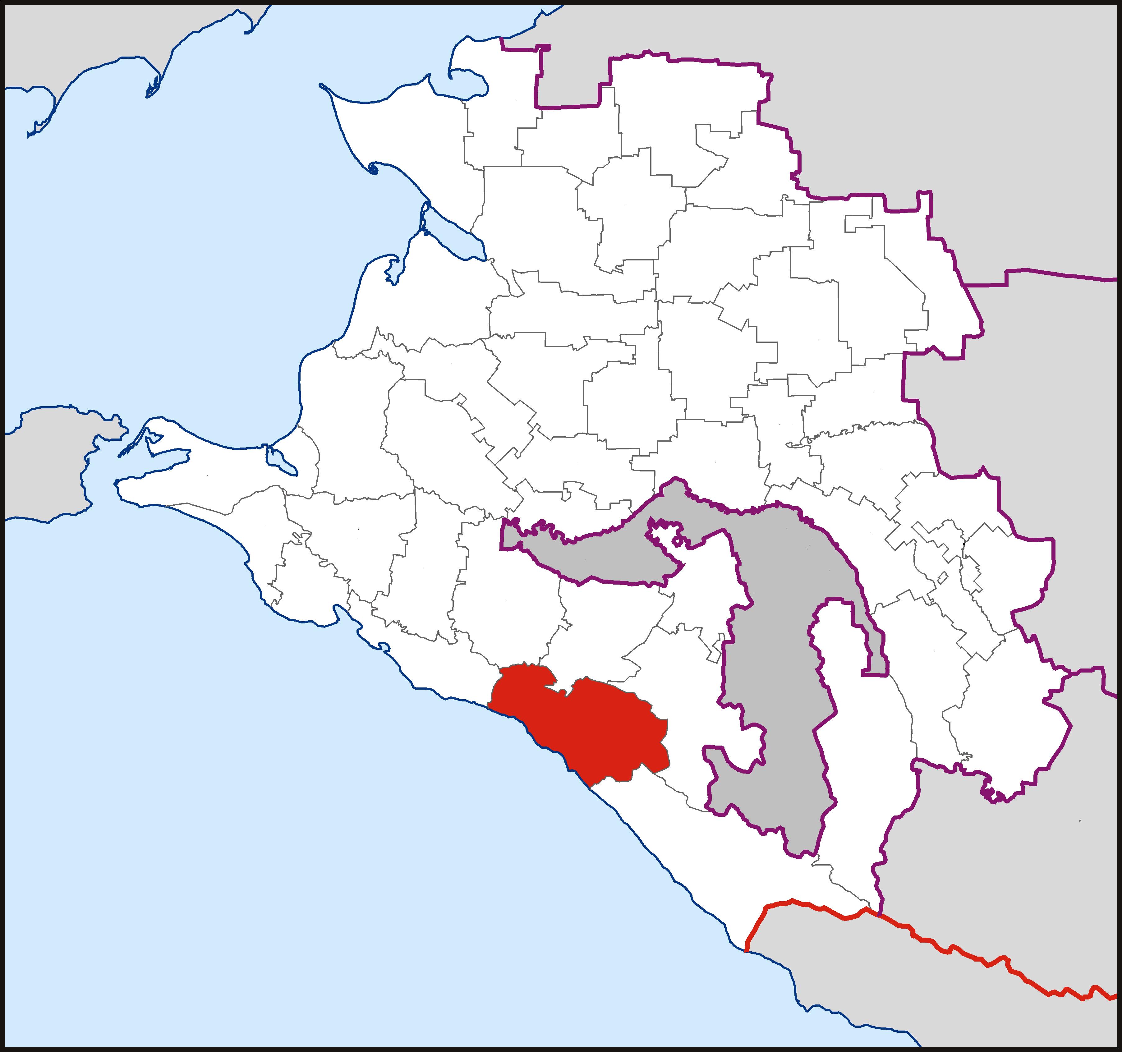 карта-схема поселка тюменский туапсинского района