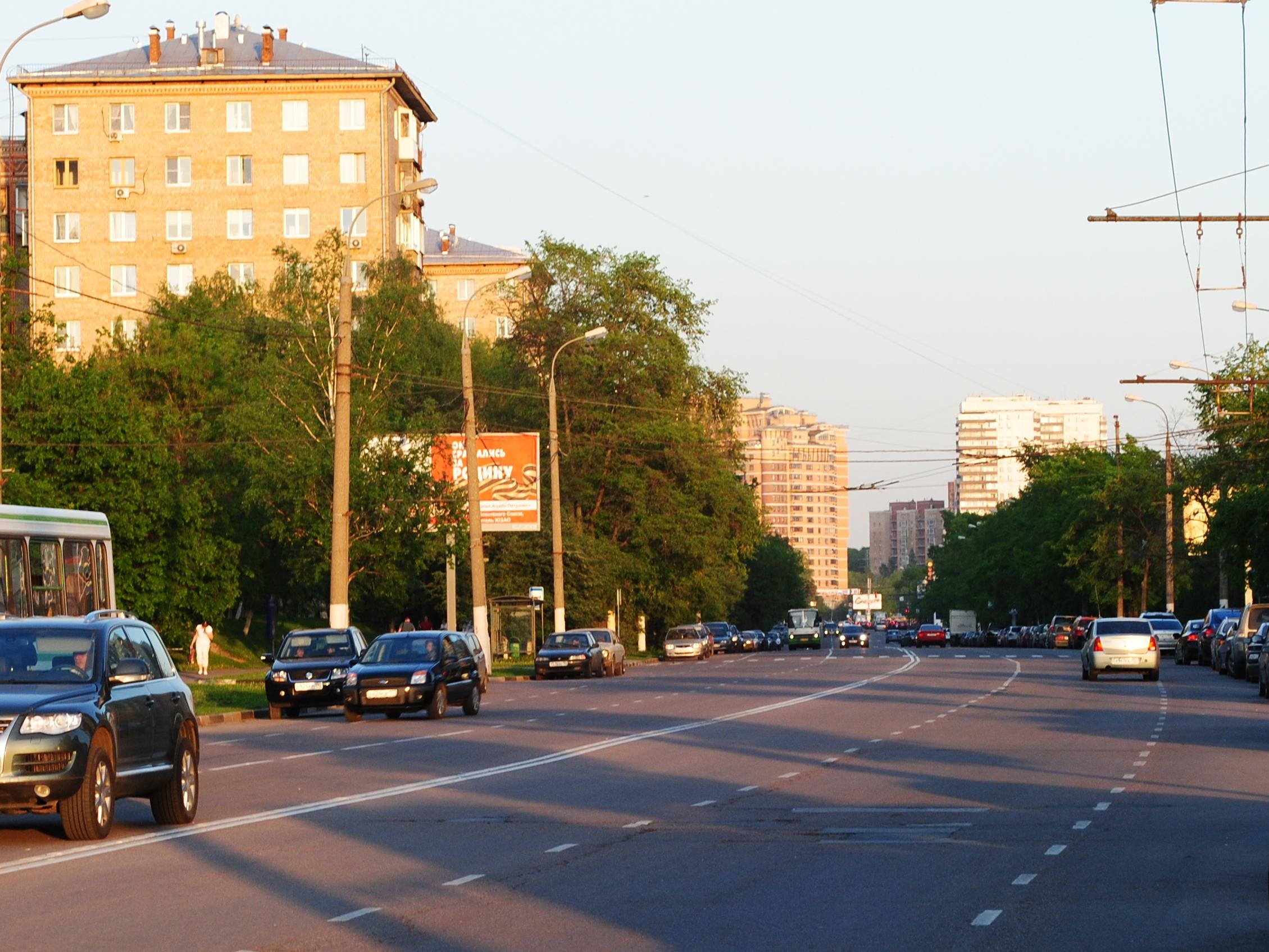 Улица Кравченко (вид от проспекта ...: dic.academic.ru/dic.nsf/ruwiki/1656914